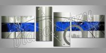 Blue line, obraz  je maľovaný ručne