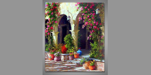 Beautiful day, ručne maľovaný obraz