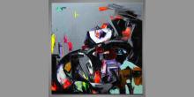 Grafity, obraz maľovaný ručne