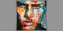 Justin, ručne maľované
