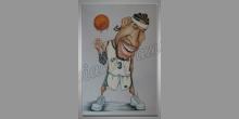 Maľované ručne, Basketbalista