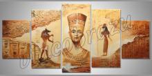 Egypt, maľované ručne