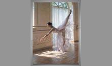 Balerína, maľovaný obraz ručne