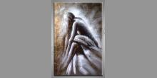 Maľovaný obraz ručne, Žena