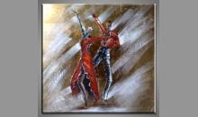 Obraz Tanečný pár, ručne maľované