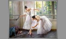 Ručne maľované, Krásne baleríny