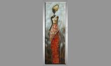 Ručne maľovaný obraz, Afričanka