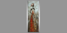 Ručne maľovaný obraz, Africká žena