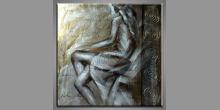 Ručne maľovaný obraz, Žena