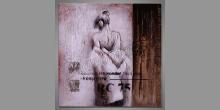 Žena, ručne maľovaný obraz