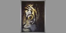 Hlava tigra, obraz ručne maľovaný