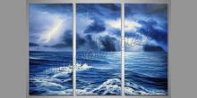 Búrka na mori, umelecky obraz