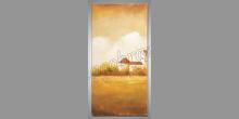 Kaštieľ, obraz maľovaný ručne