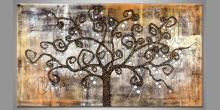 Čarovný strom, ručne maľovaný obraz