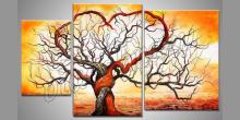 Láska dvoch, ručne maľovaný obraz