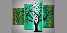 Maľovaný obraz ručne, Elfský strom