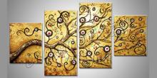 Obraz ručne maľovaný, Konár stromu