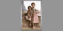 Dievčatá na brehu, umelecky obraz
