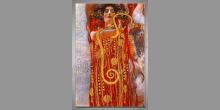 Hygieia, Gustav Klimt, umelecky obraz