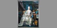 Mária Terézia, umelecky maľovaný obraz