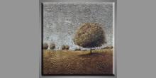 Maľovaný obraz ručne, Košatý strom