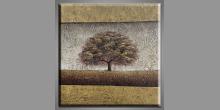 Maľovaný obraz ručne, Veľký strom