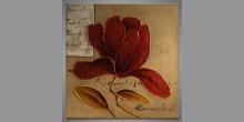 Modern picture Herbár, obraz  je maľovaný ručne