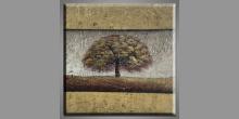 Mohutný dub, ručne maľovaný obraz