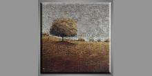 Nádherný strom, maľovaný obraz ručne
