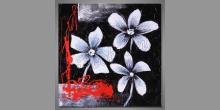Obraz tri, ručne maľované