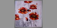 Only flowers, obraz maľovaný ručne