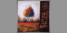 Ručne maľovaný obraz, Strom