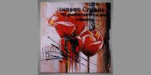 Sweet flower, obraz  je maľovaný ručne