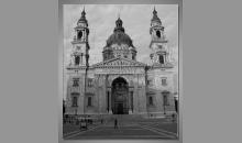 Chrám v Maďarsku, digitálne tlačený obraz