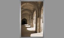 Chrámové stĺpy, obraz tlačený