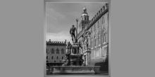 Digitálne tlačený obraz, Fontána s námestím
