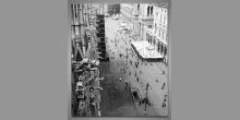 Námestie v Miláne, obraz digitálne tlačený