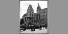 Námestie-Dánsko, digitálne tlačený obraz