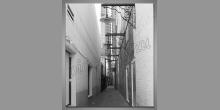 Obraz digitálne tlačený, Ulička vo Francúzsku