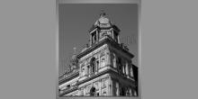 Obraz tlačený, Veža v Škótsku