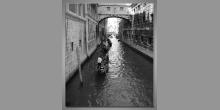 Plavba loďkou, digitálne tlačený obraz