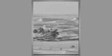 Pohľad do púšte, digitálne tlačený obraz