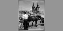 Praha, obraz digitálne tlačený