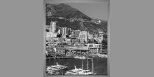 Prístavné mesto, obraz digitálne tlačený