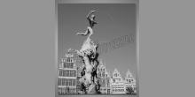Renesančná fontána, obraz digitálne tlačený