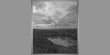 Rieka v prírode, obraz tlačený