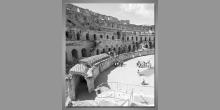 Ruiny kolosea, obraz tlačený