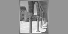 Stĺpy v chráme-Egypt, digitálne tlačený obraz