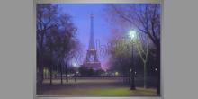 Svetlá Paríža, obraz digitálne tlačený