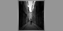 Ulica-Francúzsko, digitálne tlačený obraz